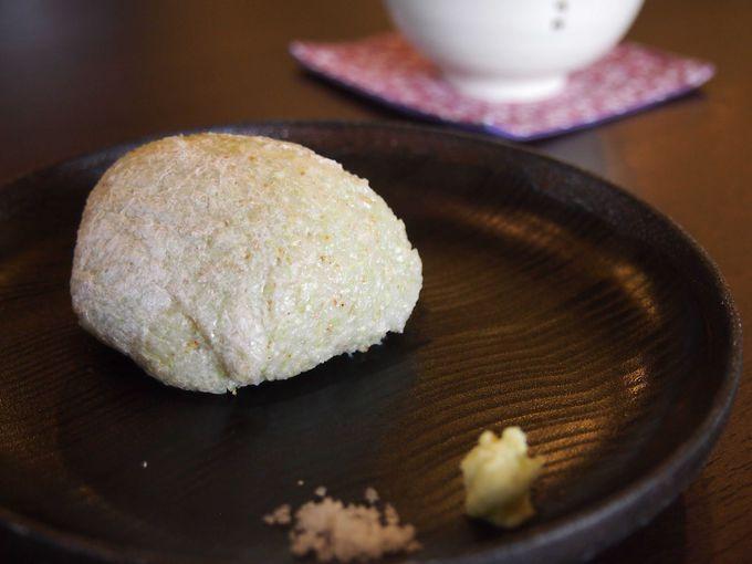 東京の蕎麦屋では見たことのない衝撃の蕎麦がき