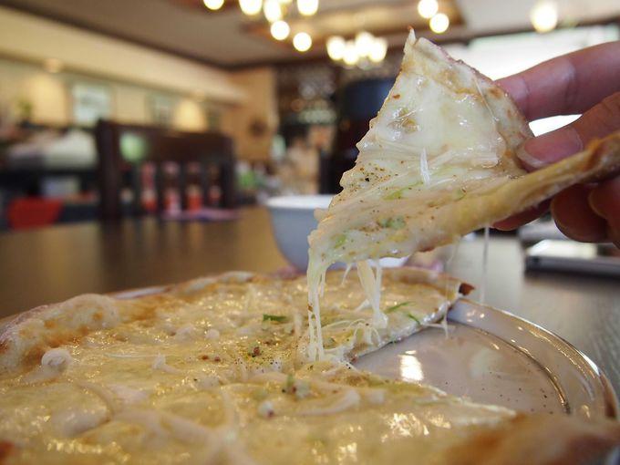大トリ!こんなピザ食べたことない!