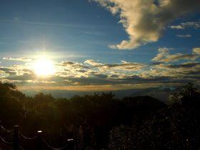 長野と群馬の境界線〜見晴台と熊野神社