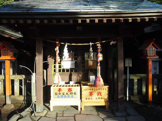 右左、ダブルで拝もう熊野神社