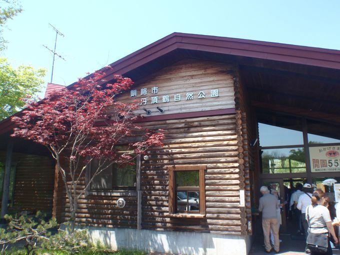 1年中「タンチョウ」の姿が見られる「釧路市丹頂鶴自然公園」