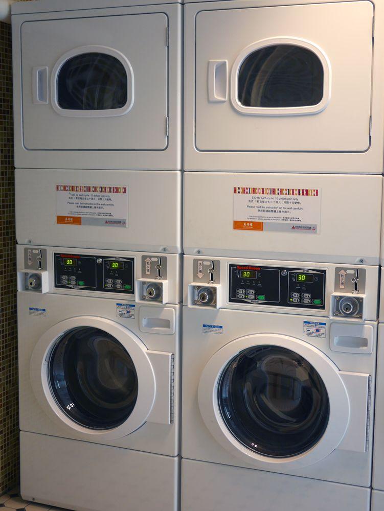 長期滞在や子連れに嬉しい、キッチンと洗濯機付き