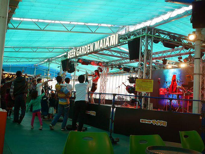 人気のライブイベントは、思い切ってステージ前で!
