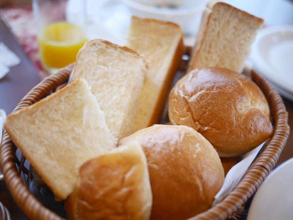 目にも鮮やかな美しい朝食も、マドンナ名物のひとつ