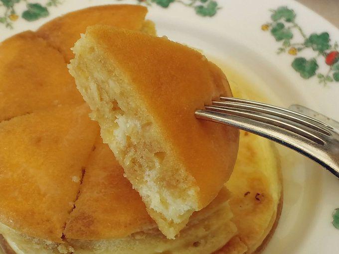 良質の素材が理想のホットケーキを作り出す!