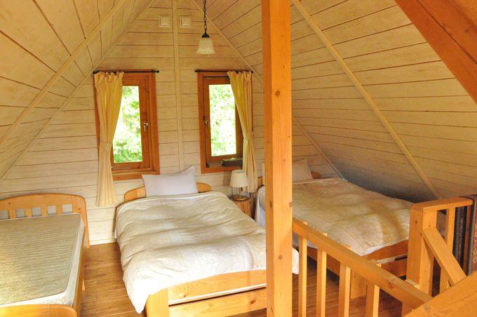 女子が一度は夢見た空間、屋根裏のベッドルーム!