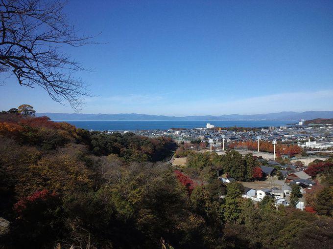 晴天の日は最高!琵琶湖を一望できる展望台!