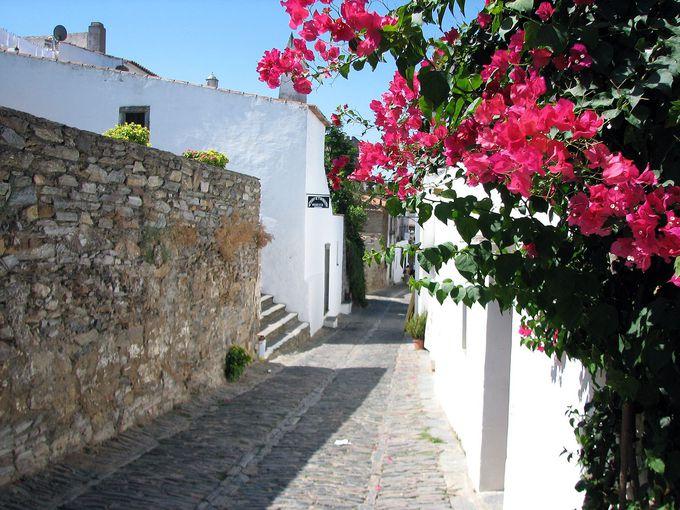 ポルトガルで最も美しい村、モンサラーシュ。