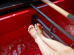 足湯付き!リゾート新幹線「とれいゆつばさ」で山形を湯ったり旅しよう。