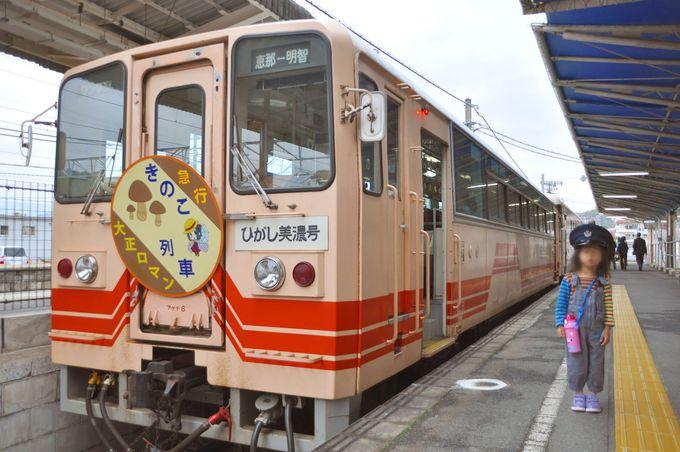 5.きのこ列車(岐阜県)