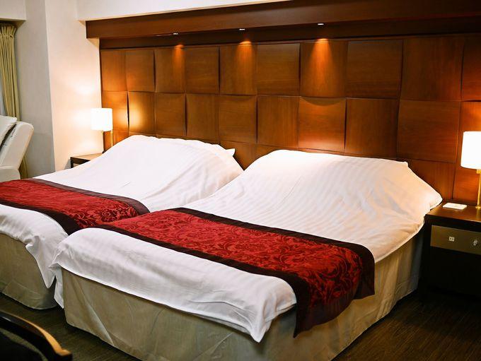 フランスベッド社製のダブルベッドで快眠をお約束!