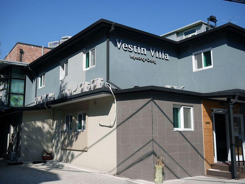 明洞に安く泊まるなら!ヴェスティン ヴィラ ミョンドンは、清潔で快適なゲストハウス!