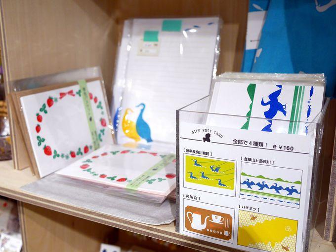 小さなお店の集合体「やながせ倉庫団地」では岐阜土産も。