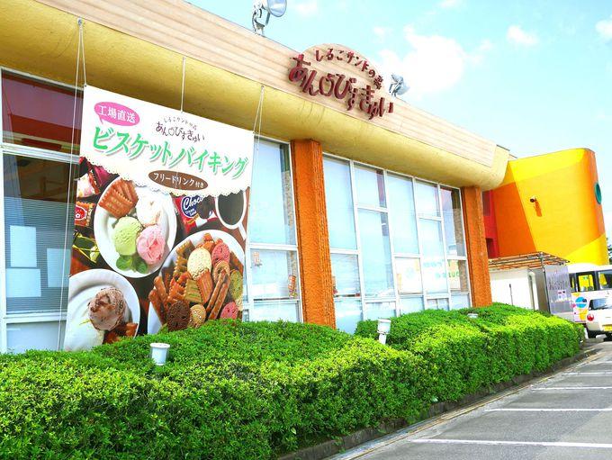 生しるこサンドのために生まれた松永製菓直営店「あん・びすきゅい」