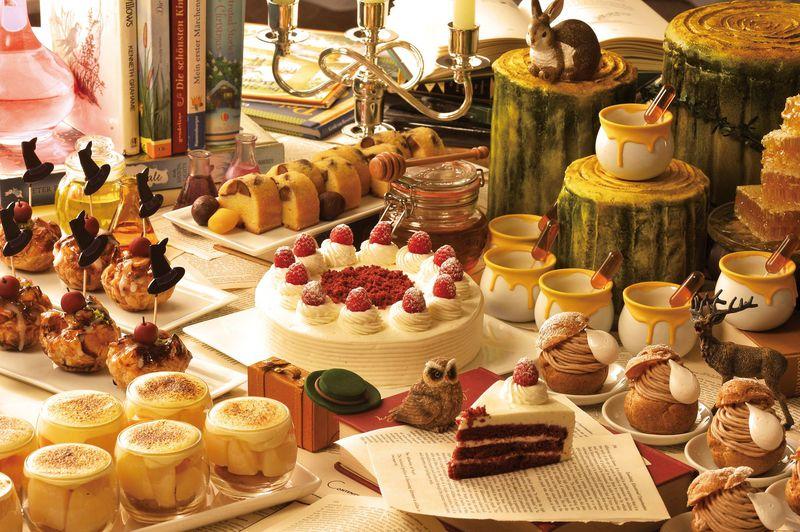 赤毛のアンのケーキも!ヒルトン名古屋「魔法の図書館」で、おとぎ話とマロンに浸る秋