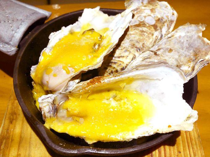 生牡蠣orオーブン焼き?生牡蠣andオーブン焼き?