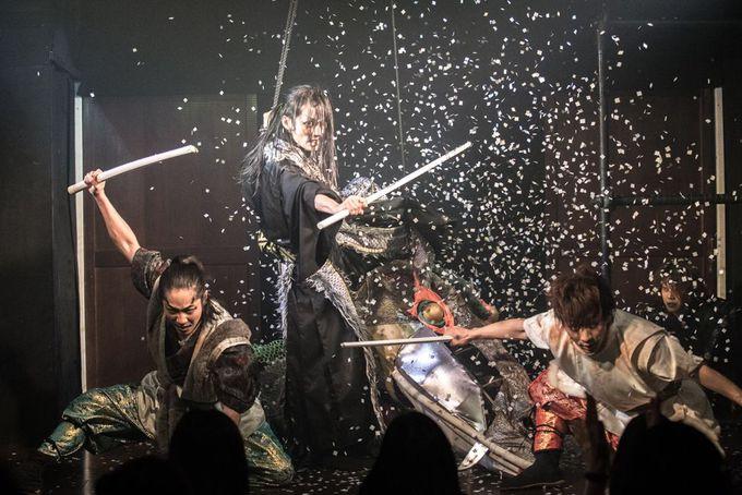 温故知新のナゴヤカブキを演じるのは、名古屋山三郎一座