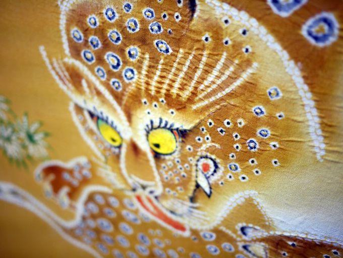 名古屋の伝統技術が集結した「竹林豹虎図」も必見