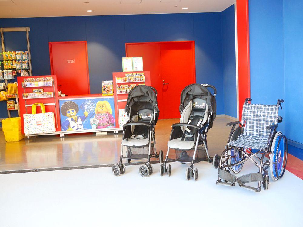 レゴランド・ジャパンは、赤ちゃんもウエルカム!
