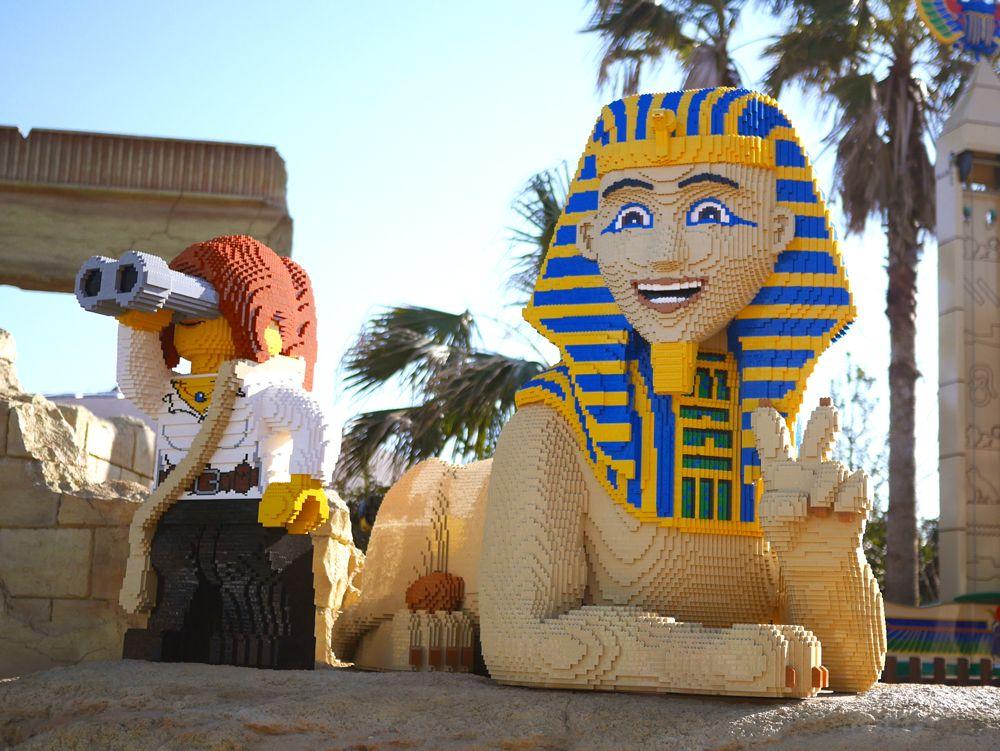古代エジプトのレゴモデルが圧巻の「アドベンチャー」