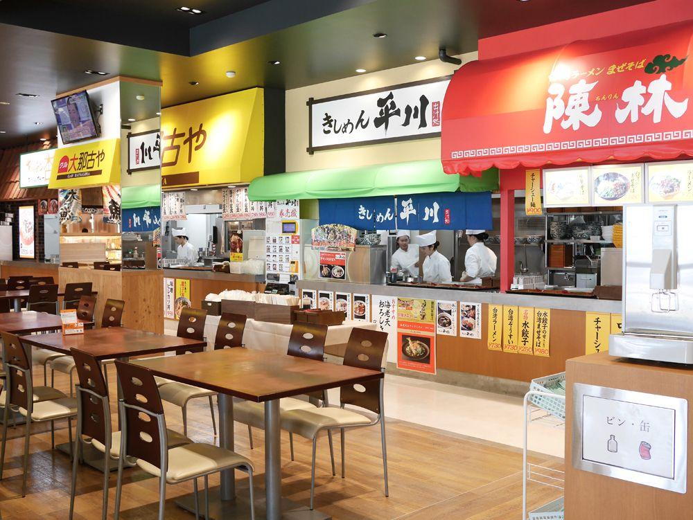 フードコートは「大名古屋食堂」にリニューアル