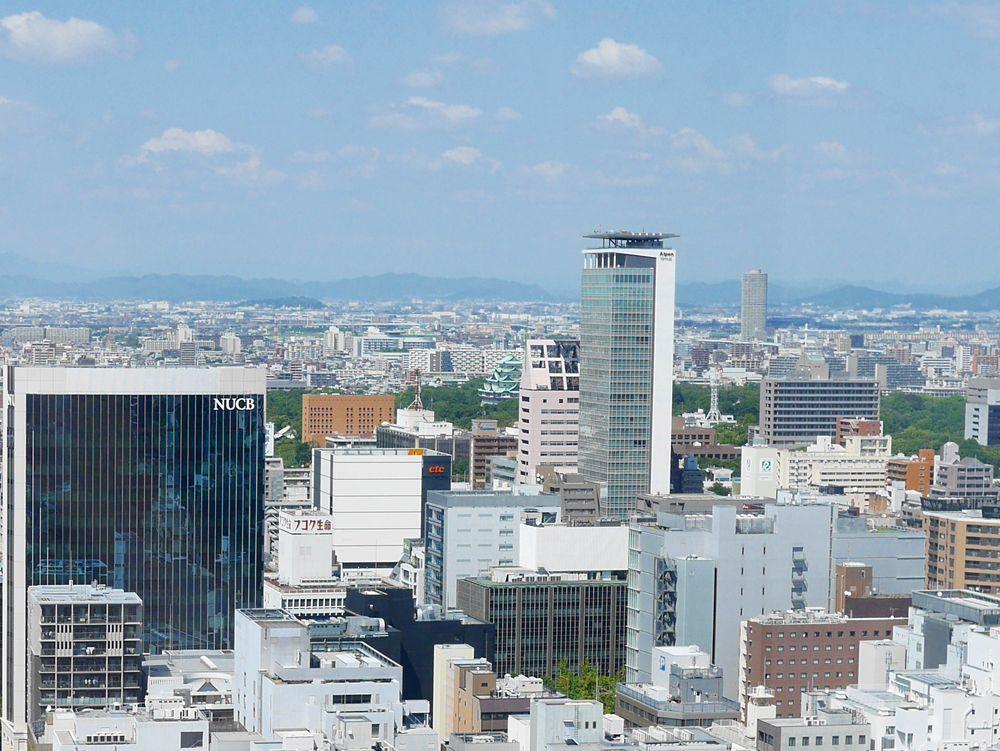 その1、小さな名古屋城とレンタサイクル