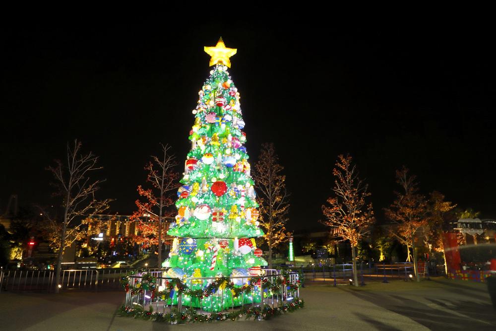 メイン会場はミニランド奥の「クリスマス・ビレッジ」
