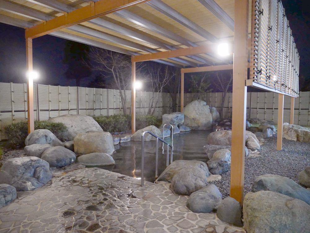 2つの水源を持つ、越中となみ野温泉