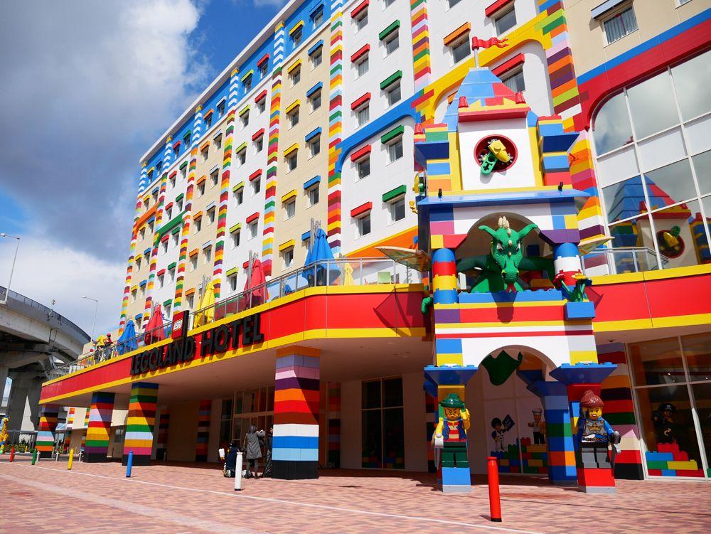 レゴの世界が、ホテルになった!