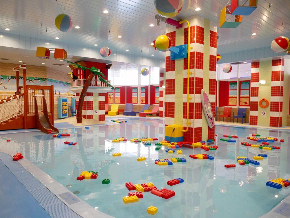 ホテル内は、遊び場がいっぱい!
