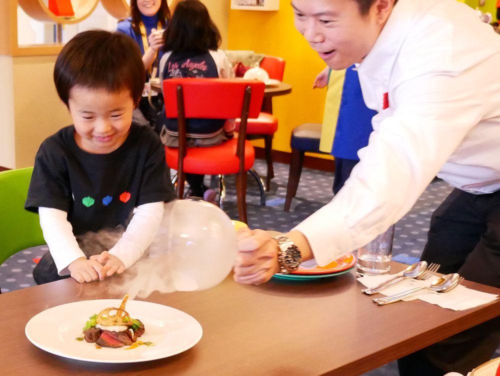 レストランでも、子どものワクワクが止まらない