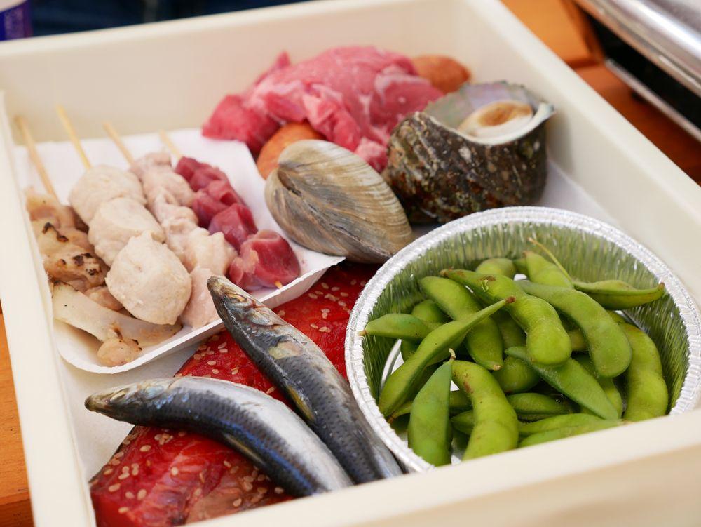 名古屋初!海鮮食べ放題バーベキュー