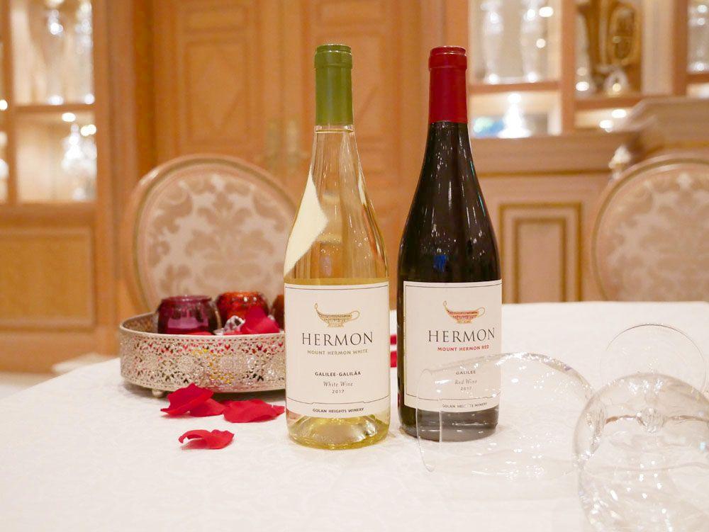 イスラエルのワインやオリジナルドリンクも!