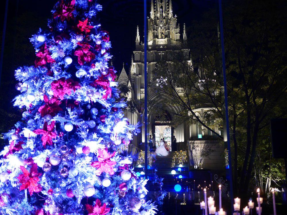 クリスマスシーズンは、チャペルコンサートも開催