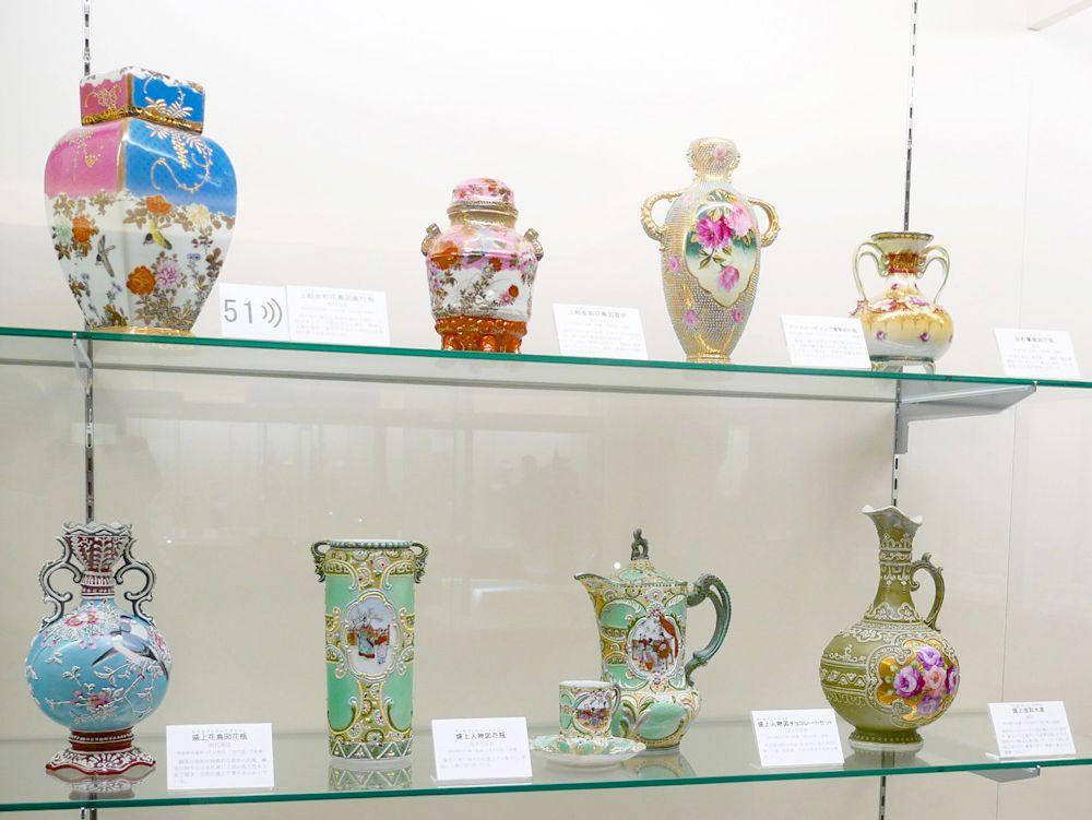 名古屋の職人技が光る、輸出用陶磁器