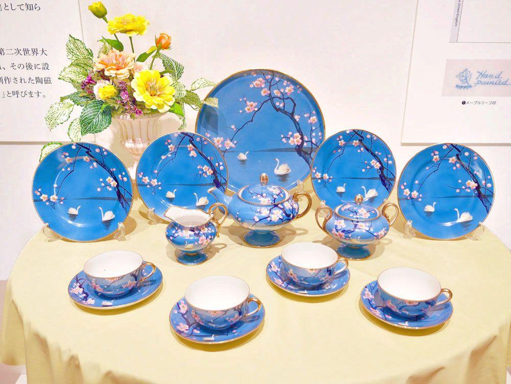 名古屋・横山美術館に集う職人技!100年前の輸出用陶磁器が一堂に