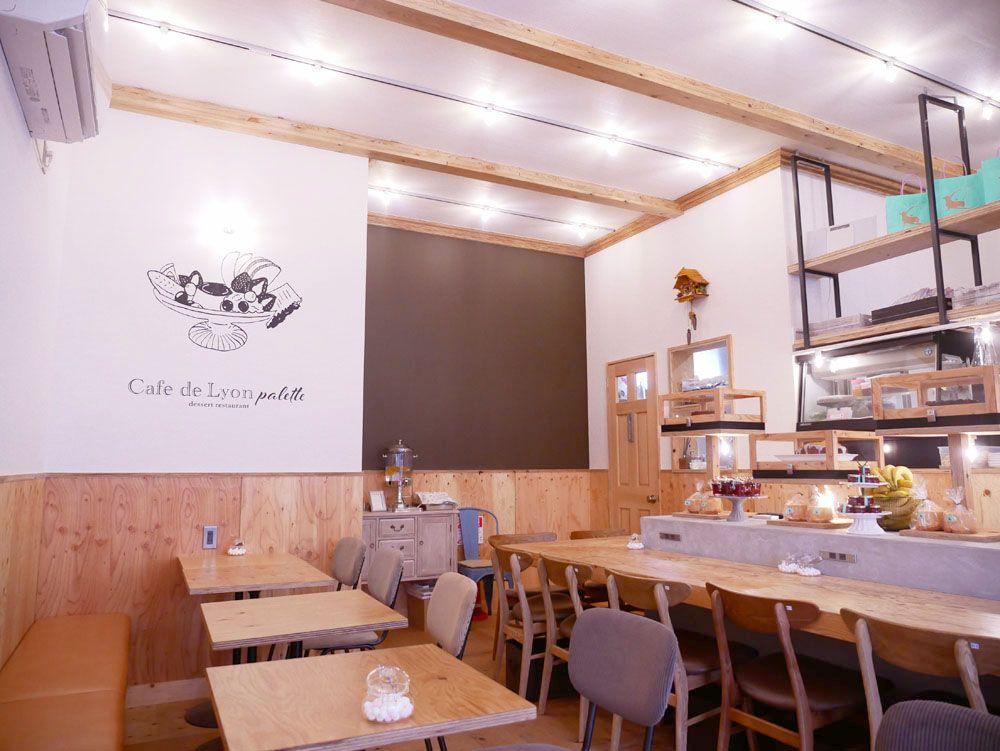 テイクアウトもあり!「Cafe de Lyon Palette」