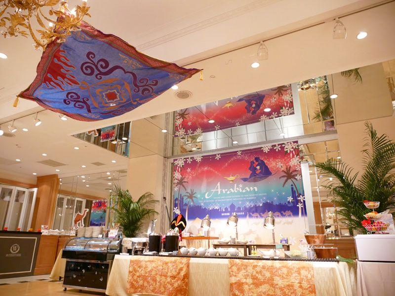 アラジンと魔法のランプの世界がデザートブッフェに!ストリングスホテル 八事 NAGOYA