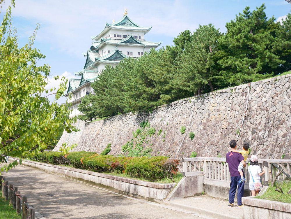 名古屋城までサイクリングもできる!