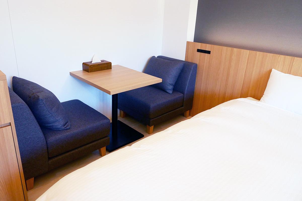 広々した客室は、選べる2種類!