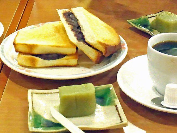 和菓子屋だからあんこが絶品!「大須ういろ」の小倉トースト