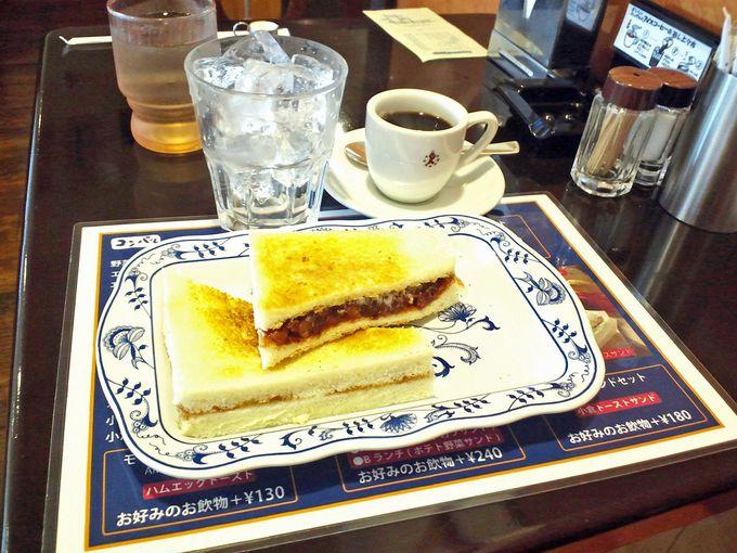 名古屋を代表する老舗喫茶「コンパル」の小倉トースト