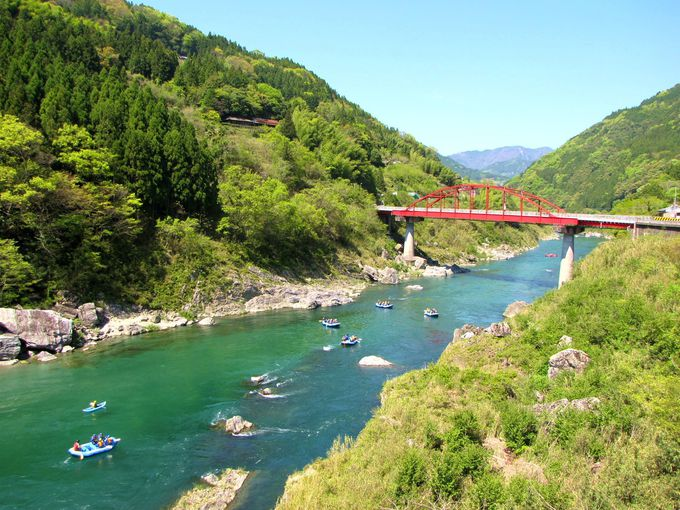12.「吉野川」絶景とスリル/徳島