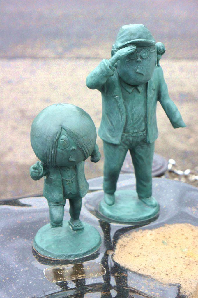 水木しげるロードを彩る「妖怪ブロンズ像」
