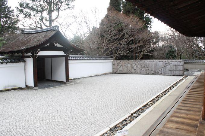 重森三玲が作った東福寺龍吟庵、三つの枯山水庭園。その一「無の庭」