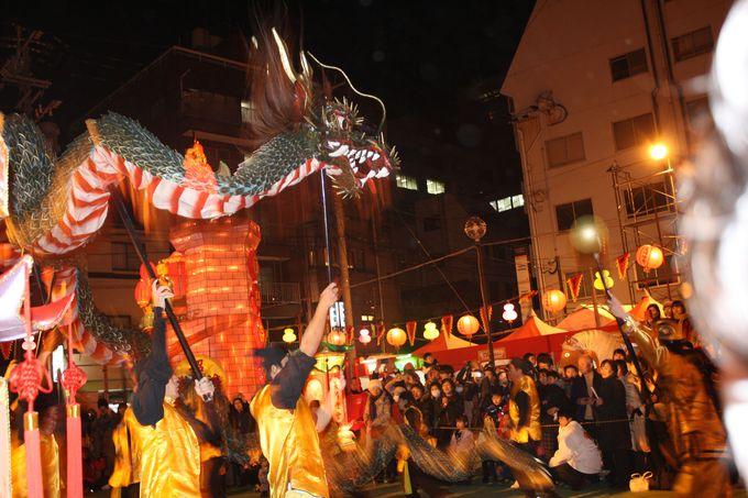 龍踊りや変面ショーなど、中国ならではのイベントを多数開催!