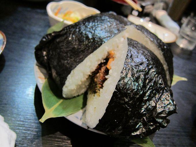 お米の名産地 南魚沼「雪ん洞」でコシヒカリ100%の特大おにぎりを食べよう!