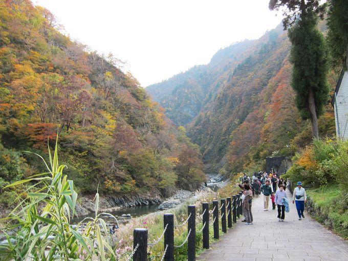 清津峡はこんなところ!