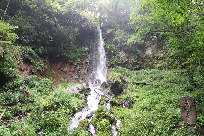 渓流を見ながらハイキング!「千ヶ滝」は軽井沢イチの落差