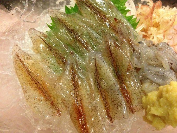 [富山]ホタルイカ、シロエビ、ゲンゲ...「きときと」な魚介を堪能